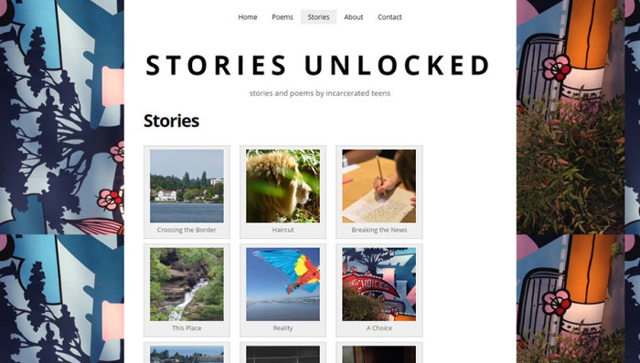 Local writer Stephanie Guerra received 4Culture Art Projects funds for Stories Unlocked, a publication of poetry and writing by students incarcerated in the King County Juvenile Detention Center.