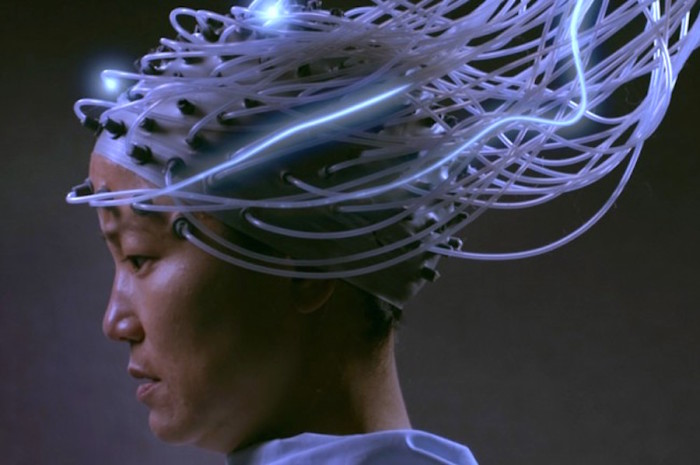 "Still from ""Advantageous,"" a feature-length sci-fi film directed by Jennifer Phang. (Image courtesy of Seattle Asian American Film Festival)"