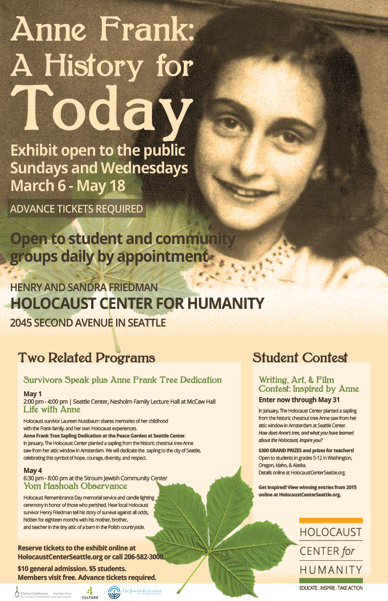 a history of anne frank The story of anne frank learning about the holocaust can be extremely difficult due to the massive amount of information it entails in addition, the holocaust was a tragic event on so massive a scale it is hard to emotionally comprehend.