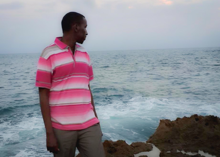 At Jazeera Beach, Mogadishu. It was my first time seeing the ocean in Somalia, a lifelong dream of mine, a full two years after I returned. (Courtesy photo)