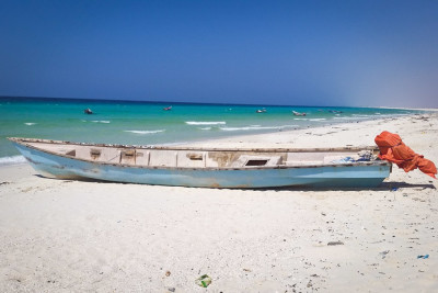 Thanks in part to an infusion of investment from the Somali diaspora, the economy is expanding from agriculture and fishing to more industry and services. (Photo by Said Maxad)