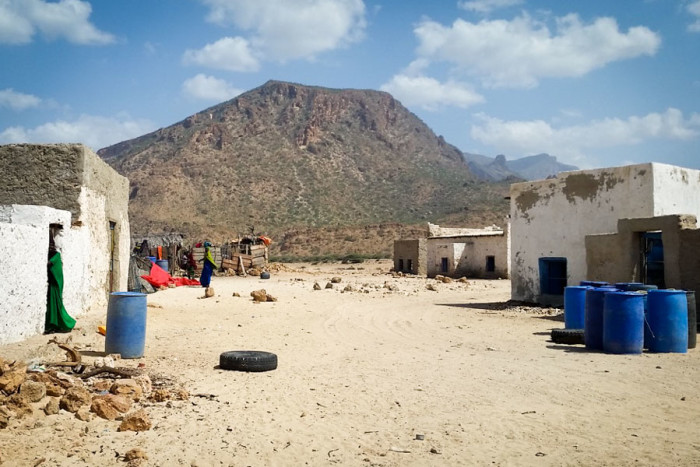 Homes in the Bari Region, in Northeastern Somalia. (Photo by Said Maxad)