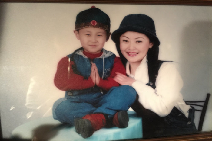 My mom and I in China before we moved to Boise, Idaho. I was born under the one-child policy. (Courtesy photo)