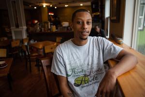 Solomon Dubie, owner of Cafe Avole. (Photo by Jovelle Tamayo)