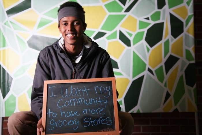 Abdikani Mohammed. (Photo by The Seattle Globalist)