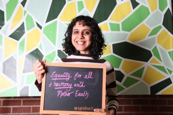 Afrin Sopariwala. (Photo by The Seattle Globalist)