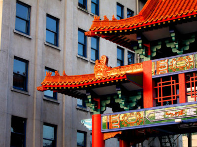 A corner of Chinatown, taken by Curtis Cronn on Feb. 12, 2011