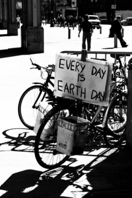 Everyday is Earth day, taken in Chinatown by Ajay Suresh on March 30, 2013