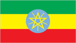 Flag of Ethiopia (Photo via CIA World Factbook.)