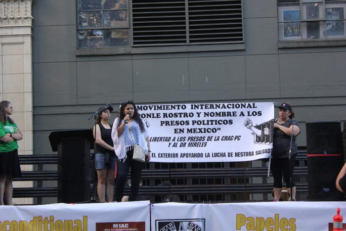Nestora Salgado. (Photo by DJ Martinez)