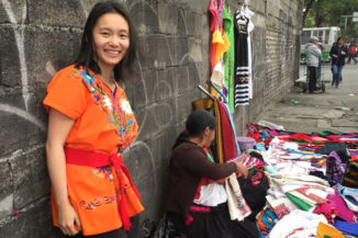 Jenny Chen, a resident of Wallingford, has gone missing while backpacking in Mexico. Here, Chen is seen while traveling in Puebla, Mexico, in March. (Courtesy of Jonathan Reinhard)
