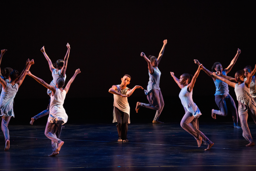 Final performance at the 2012 AileyCamp in New York. (Photo by Rosalie O'Connor)