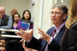 Is Bill Gates really the face of global philanthropy? Gates addressed staff of the UK Department for International Development to highlight the importance of aid in October of 2010. (Photo republished under a Creative Commons Attribution 2.0 Generic license)