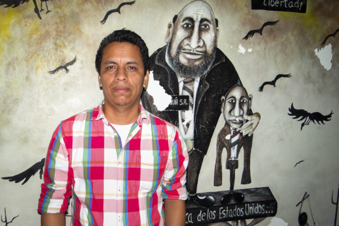 Benjamín Lorenzana Cruz, a historian in Tuxtla Gutiérrez, the capital of Chiapas state, says many academics aren't interested in focusing on Afro-descendants or mixed-race people. Through his research, he hopes to show people that Mexico owes a great debt to Mexico's Afro-descendant population. (Photo by Adriana Alcázar González, GPJ Mexico)