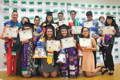 Undocumented graduates from around Washington gathered to celebrate at an event hosted by the Washington Dream Coalition. (Photo by Jose Mariscal-Cruz)
