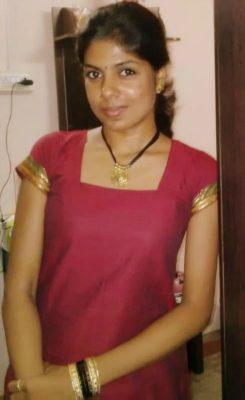 Swetha at her family home (Photo by Faizah Aditya Aziz)