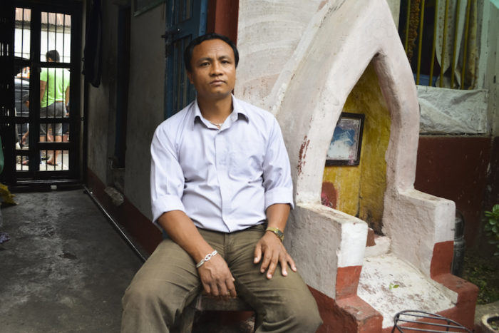 Dipak Thakuri, 38, is one of eight leaders at Kavre District Prison. (Photo by Kalpana Khanal for GPJ Nepal)