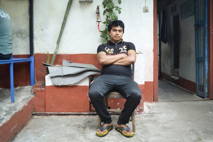 Suraj Thapa, 24, is a deputy leader at Kavre District Prison. (Photo by Kalpana Khanal for GPJ Nepal)