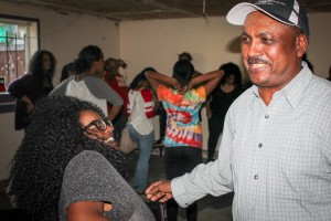 Michael Hadgu, with UTNA, youth rehearsing for Tigray Festival 2015 in Seattle, Tigray Community Center (Photo Credit: Goorish Wibneh)