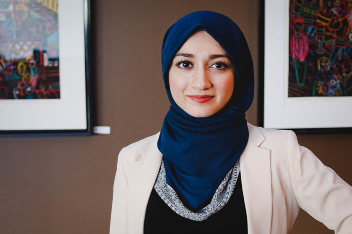Varisha Khan, a Washington state Democratic delegate, is one of the youngest participants at the 2016 Democratic National Convention. (Photo courtesy CAIR-WA.)