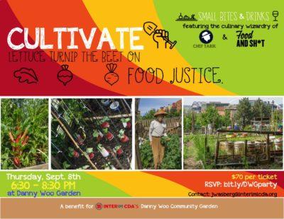 Cultivate Postcard