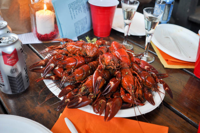 Crawfish are found all over the world, but are especially abundant in North America and Northern Europe where traditions like the Swedish Kräftskiva usually involve eating a ton of them in one sitting. (Photo by Yvonne Rogell)