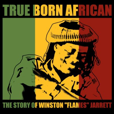 "Seattle resident and reggae legend Winston ""Flames"" Jarrett, immortalized in art for the forthcoming film ""True Born African."" (Courtesy Nicholas John Nakis)"