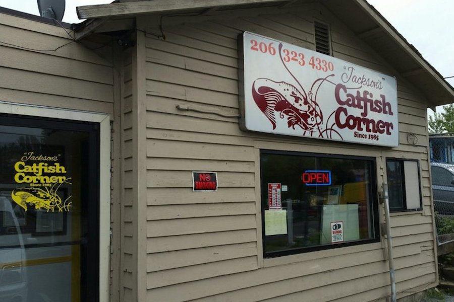 Jackson's Catfish Corner at its location on Rainier Avenue. (Photo courtesy of Jackson's Catfish Corner)