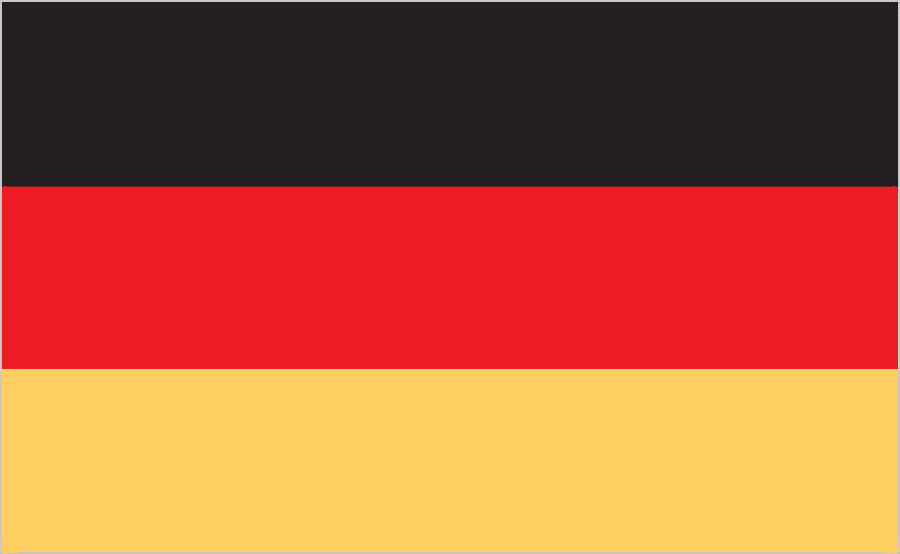 Flag of Germany (Image via CIA Factbook.)