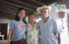 The author, left, with her great aunt Aucencia Lagunas Aguilar and great uncle Pedro Mansevo in their home in Taxco, Guerrero. (Courtesy photo)