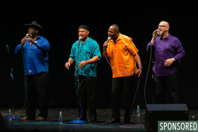 The Main Attraction: Acappella Vocalists celebrate Northwest Folklife's 2016 Cultural Focus: Power of the Human Voice through Song. (Photo by Christopher Nelson)