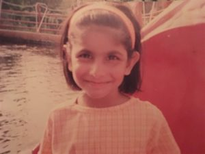 Author as a child. (Photo courtesy of Jeevika Verma)