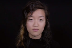 Screenshot from a New York Times video where Asian Americans recount stories of racially charged encounters.