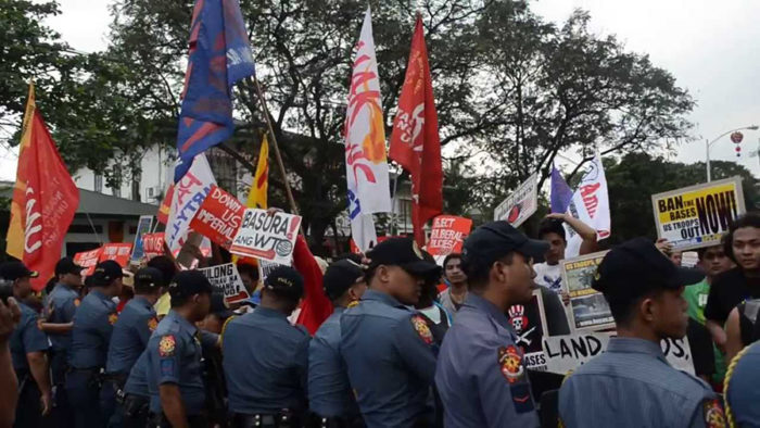 WTO Philippines Protest