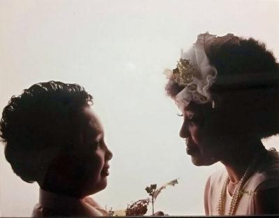 Nicole Harris and son