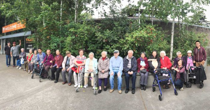Legacy House assisted living residents, on a 2015 outing to the zoo. (Courtesy photo)