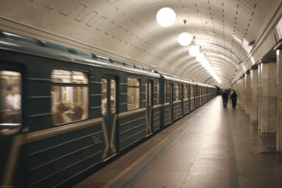 The Moscow subway. (Photo from Flickr by Stefan Schlautmann)