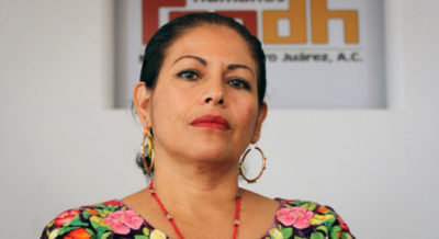 Bettina Cruz (Photo from International Service for Human Rights)