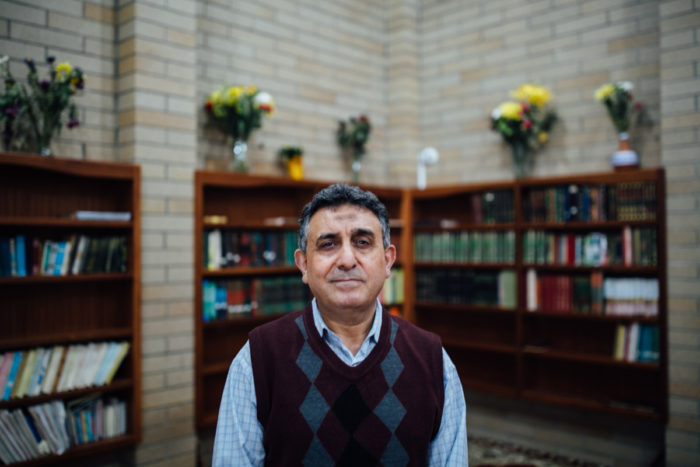 Hashim Farajalla, board member at the Idris Mosque. (Photo by Julia-Grace Sanders)