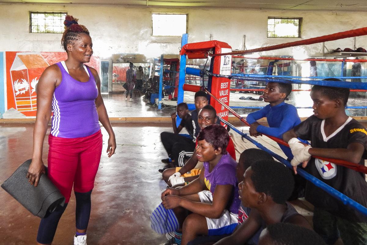 In Zambia, women are boxing's stars