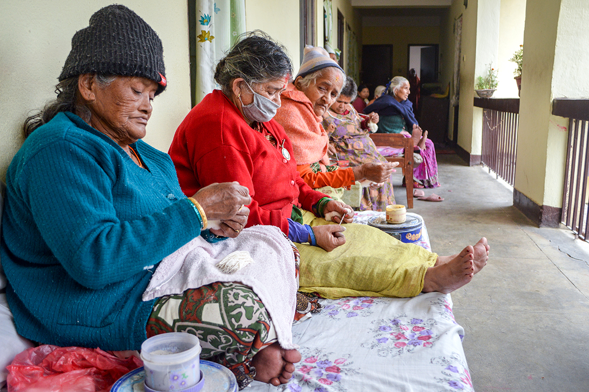 Nepal old age home
