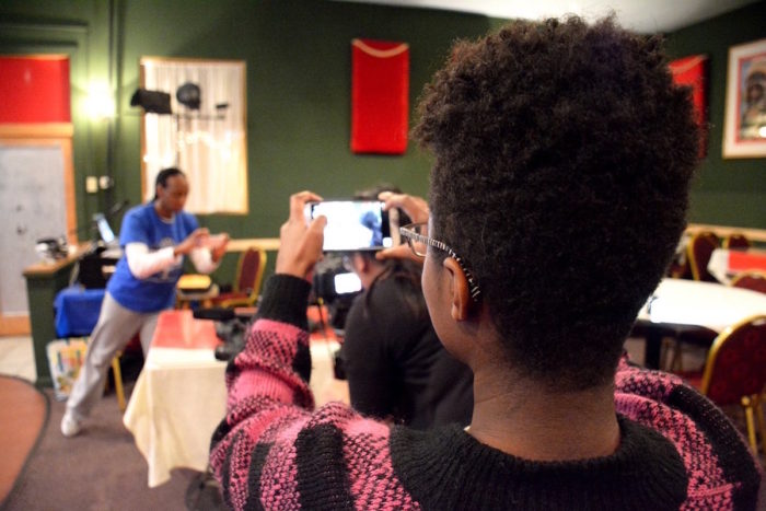 Seattle Globalist Community Media Workshops teach journalism skills including photography.