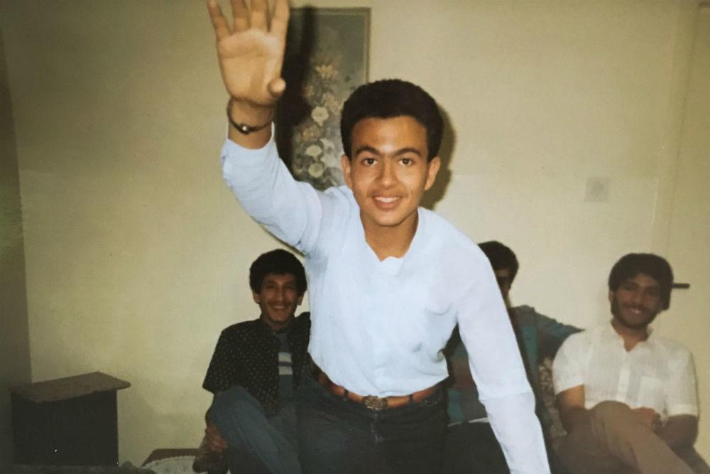 Bishara Kharoufeh left Al Ahmadi, Kuwait for Lafayette, Louisiana in 1984. (Photo courtesy Bishara Kharoufeh)