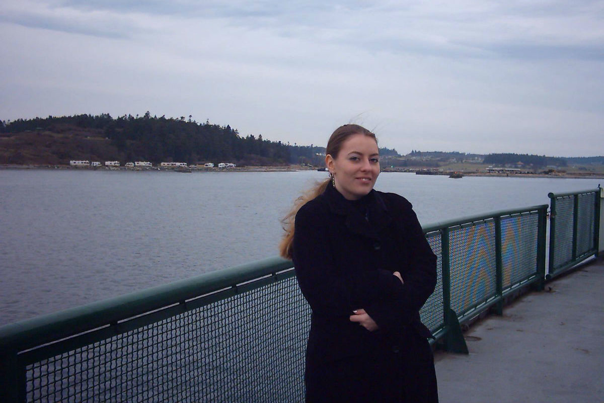 Danica Groah came to the US from Germany in 2006. (Photo courtesy Danica Groah)