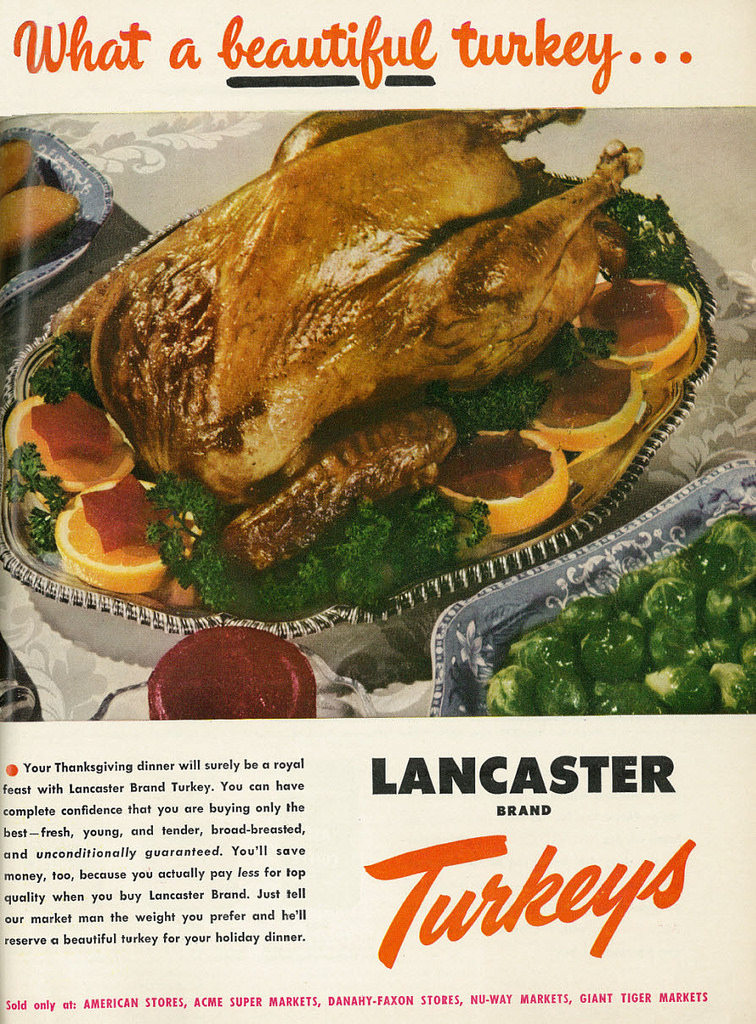 Thanksgiving turkey dinner as traditionally associated with the all-American holiday. However, the traditional narrative surrounding the holiday can be problematic for current indigenous and native cultures. (Via Flickr)